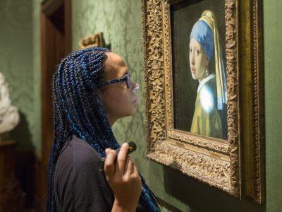 Persbenadering nieuw onderzoek Meisje met de parel van Vermeer